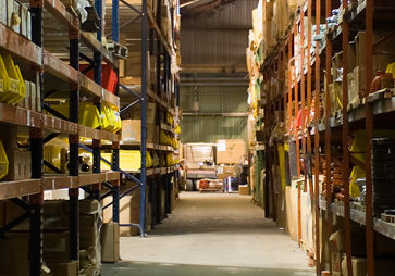 Interior of ACT warehouse